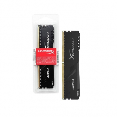 DDR4 Kingston HyperX Fury 4GB 2666MHz CL16 Black DIMM