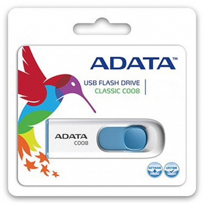 Флеш накопичувач ADATA C008 8GB USB 2.0