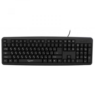 Клавіатура Gembird KB-U-103-UA black USB