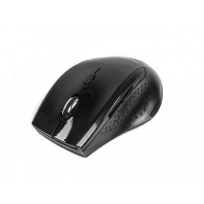 Мишка безпровідна Maxxter Black USB