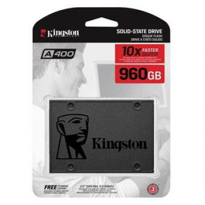 "Накопичувач SSD Kingston A400 960GB 2.5"" SATAIII"