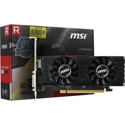 Відеокарта AMD Radeon RX 550 2GB GDDR5 Low Profile OC MSI