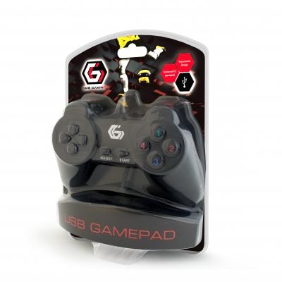 Геймпад Gembird JPD-UB-01 Black USB