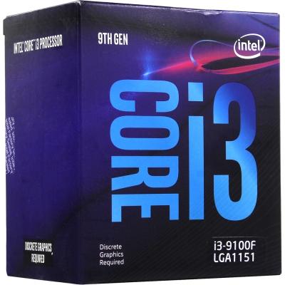 Процесор Intel Core i3-9100F