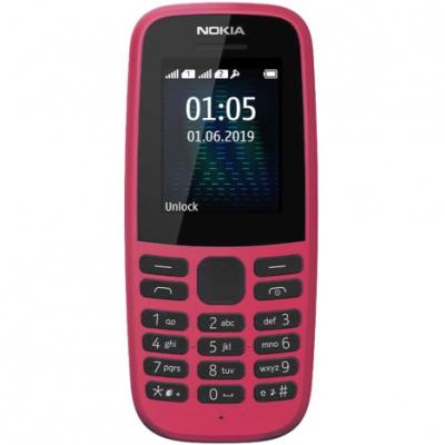 Мобільний телефон Nokia 105 2019 Single Sim Pink