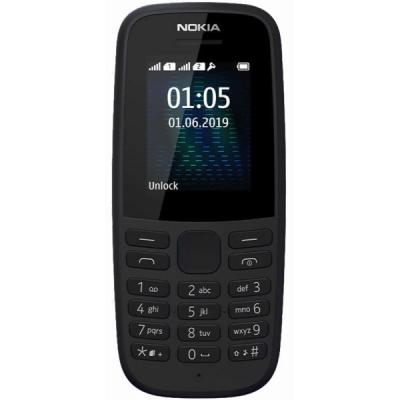 Мобільний телефон Nokia 105 2019 Single Sim Black