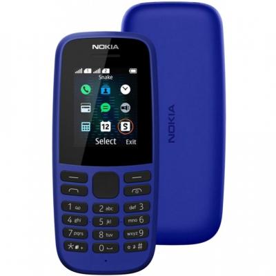 Мобільний телефон Nokia 105 2019 Single Sim Blue