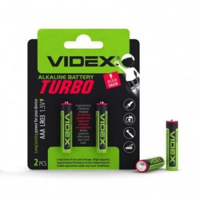 Батарейки лужні Videx LR03 / AAA