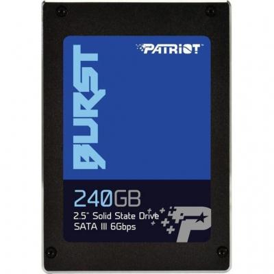 "Накопичувач SSD 2.5"" Patriot Burst 240GB SATAIII"
