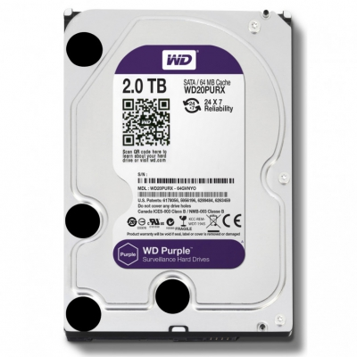 Жорсткий диск Western Digital Purple 2TB