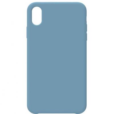 Чохол-накладка Toto Silicone Case для Apple iPhone X/XS Azusa Blue