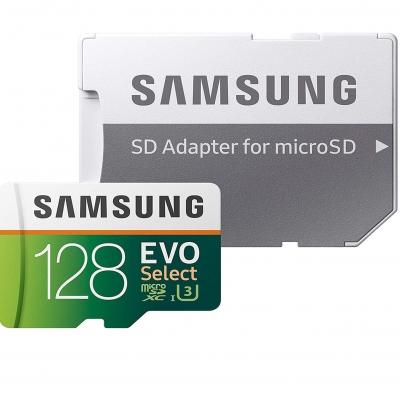 Карта пам'яті Samsung EVO Select 128Gb class 10