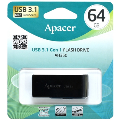 Флеш накопичувач Apacer 350 USB 3.0 64 Гб