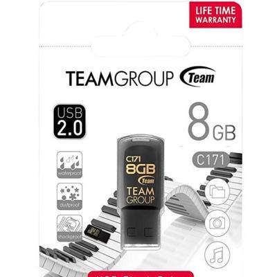 Флеш-накопичувач USB 8GB Team C171 Black