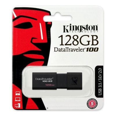 Флеш накопичувач Kingston DT100 G3 128GB USB 3.0