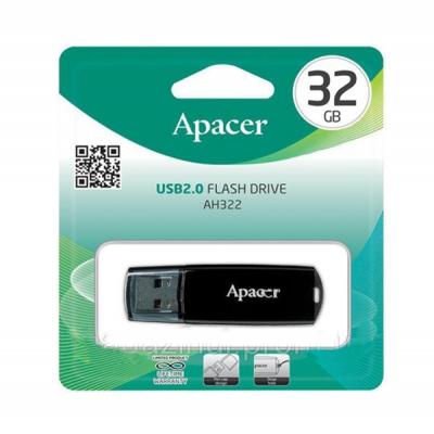 Флеш накопичувач Apacer AH322 32GB USB 2.0