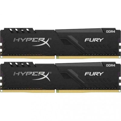 DDR4 Kingston HyperX FURY 8GB (Kit of 2x4Gb) 2400MHz CL15 Black DIMM