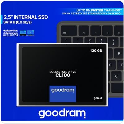 "Накопичувач SSD 2.5"" GoodRam 120GB SATAIII"