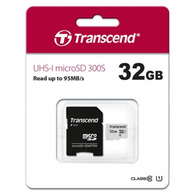 Карта пам'яті Transcend 32 GB Class 10