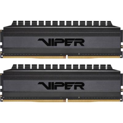 DDR4 Patriot 16 GB (2x8GB) 3200 MHz Viper 4 Blackout