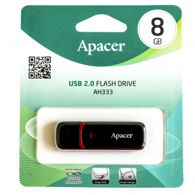 Флеш-накопичувач Apacer AH333 8GB USB 2.0