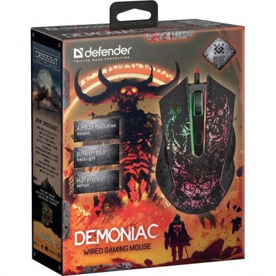 Миша Defender Demoniac GM-540L Black USB