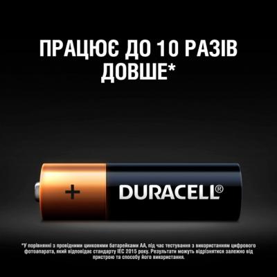 Батарейка Duracell LR06 MN1500 1x2 шт