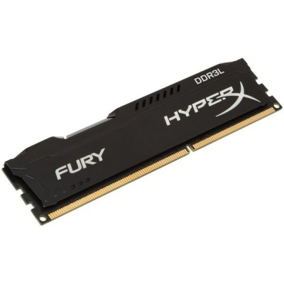 DDR3 Kingston HyperX Fury 8GB 1600MHz CL10 Black DIMM