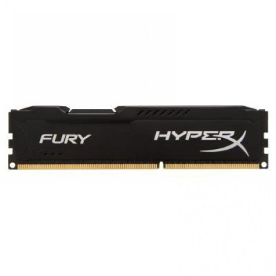 DDR3 Kingston HyperX FURY 4GB 1600MHz CL10 Black DIMM