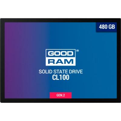 "Накопичувач SSD 2.5"" GOODRAM CX400 480GB SATAIII"