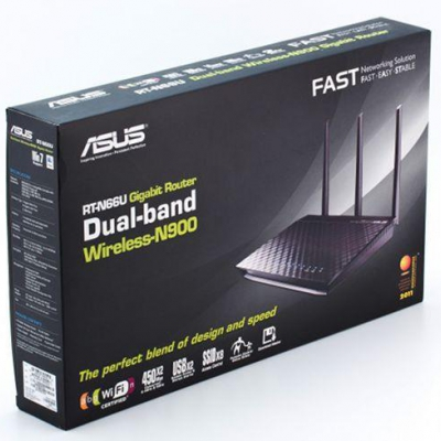 WI-FI роутер Asus RT-N12E