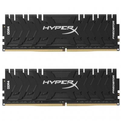 DDR4 Kingston XMP HyperX Predator 16GB (Kit of 2x8) 3333MHz CL16 Black DIMM