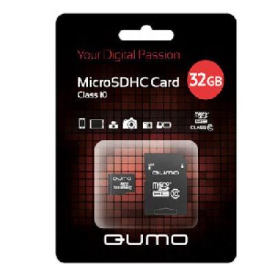 Карта пам'яті Qumo 32 GB class 10