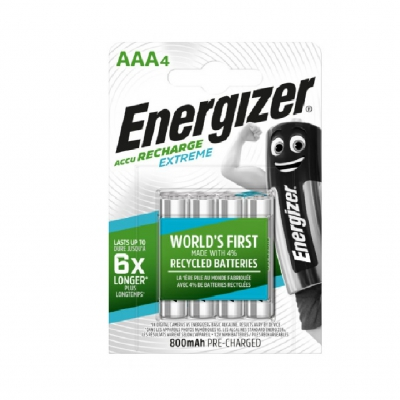 Акумулятор Energizer Recharge Extreme AAA/(HR03) 800mAh