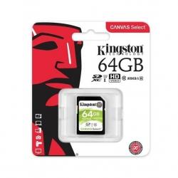Карта пам'яті Kingston SDXC 64GB Canvas Select Class 10