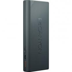 Універсальна мобільна батарея Canyon 10000mAh Dark Grey
