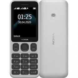 Мобільний телефон Nokia 125 Dual Sim White