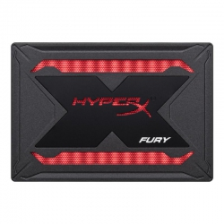 "Накопичувач SSD 480GB Kingston HyperX Fury RGB 2.5"" SATAIII 3D TLC"