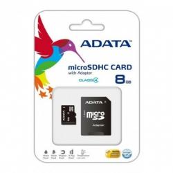 Карта пам'яті microSDHC 8Gb Adata