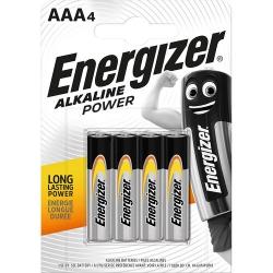Батарейки Energizer AAA 4 шт