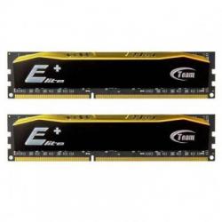 Модуль пам'яті DDR4 2x4GB 2400 MHz Team Elite Plus Black