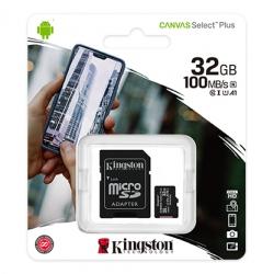 Карта пам'яті Kingston 32 GB 100 Mb/S
