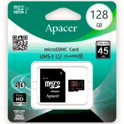 Карта пам'яті Apacer microSDHC 128Gb class 10