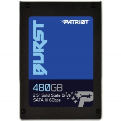 "Накопичувач SSD 2.5"" Patriot Burst 480GB SATAIII"