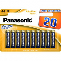Батарейка PANASONIC LR06 Alkaline Power * 20