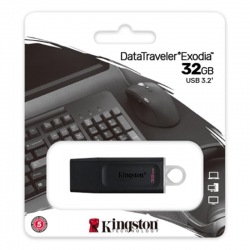 Флеш-накопичувач Kingston DataTraveler 32GB USB3.2 Exodia