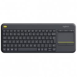 Клавіатура Logitech Wireless Touch Keyboard K400 Plus RUS