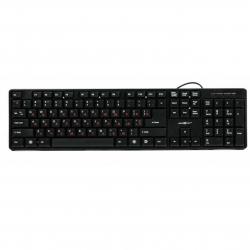 Клавіатура Maxxter  UKR / RUS Black USB