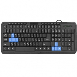 Клавіатура Defender #1 HM-430 Black USB