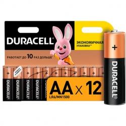 Батарейка Duracell Basic AA/LR06 BL 12шт